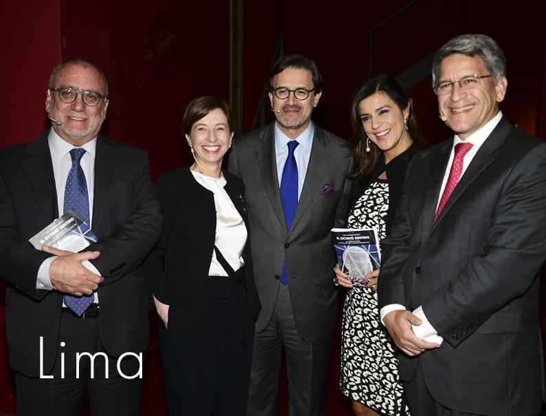 Lima acoge la presentación del libro con panel e invitados de lujo