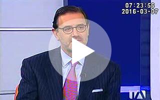 Entrevista a José Antonio Llorente en Teleamazonas